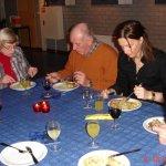 1- Eten nieuwjaar 2009 06